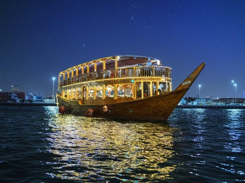 The charm of a Dhow Cruise Dubai