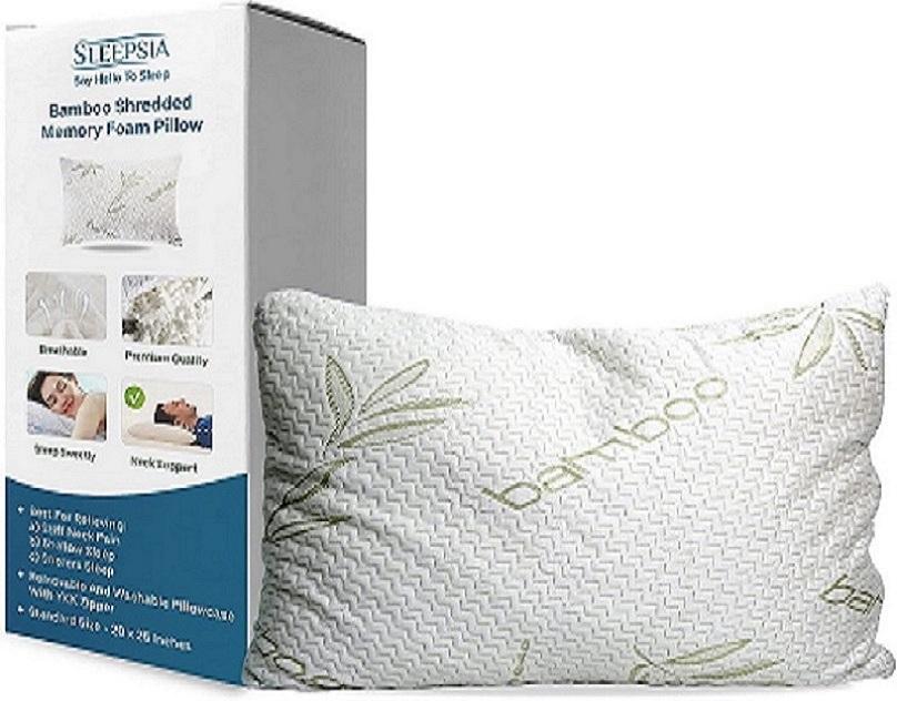 Is Shredded Memory Foam Pillow Adjustable
