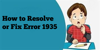 How to Resolve or Fix Error 1935 while Installing Sage 50?